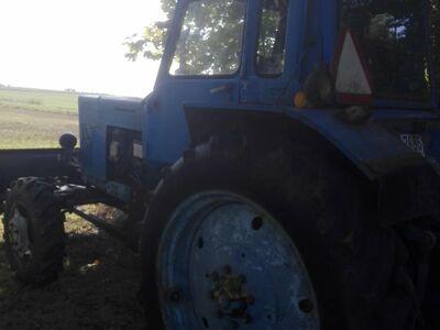 Traktor mtz-82 ja sahk