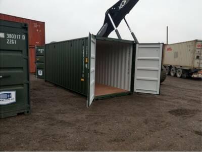 Müüa 6m topelt ustega konteiner 2690eur