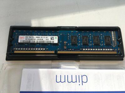 2gb DDR3 Hynix mälu