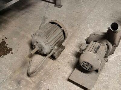 Elektrimootor koos puhuriga