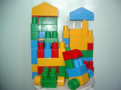 Lego klotsid (suuremad)
