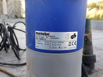 Reovee pump METABO