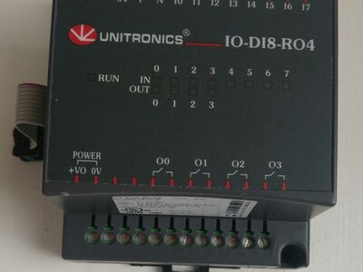 Unitronics IO-DI8-RO4 expansion input output unit