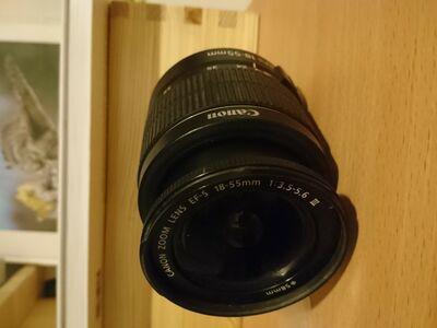 Canon EF-S 18-55mm objektiiv