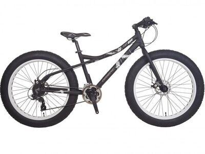 Uus Fatbike jalgratas, alumiiniumraam, ketaspidur