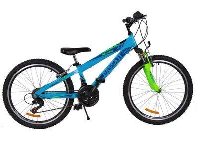 Uus 24'' alumiiniumraamiga laste jalgratas, 8-12a