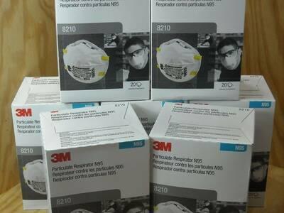 3M N95 hingamismaskid mudel 8210