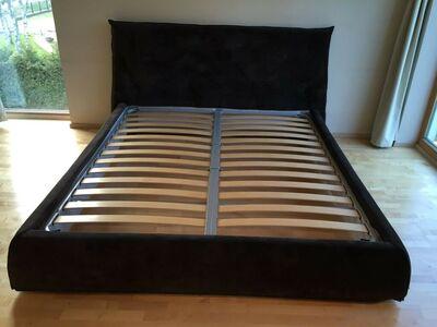 Pianca voodi pruun 180x200