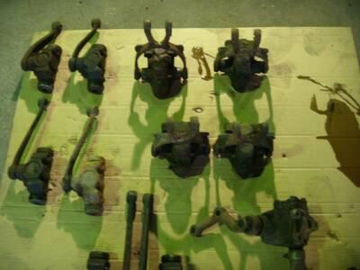 GAZ, Moskvich roolisambad, -karbid ja amordid