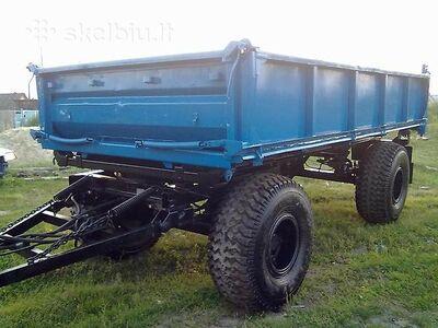 6 T traktorikäru