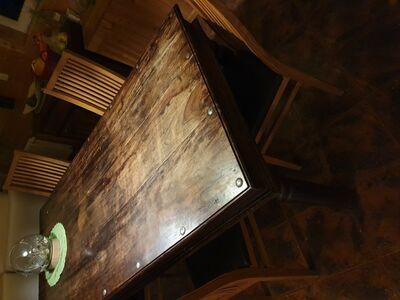 Laud ja toolid 5 tk