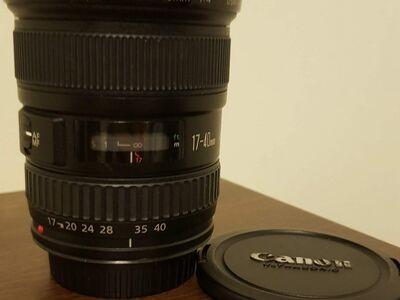 Objektiiv Canon EF 17-40 F/4 L USM