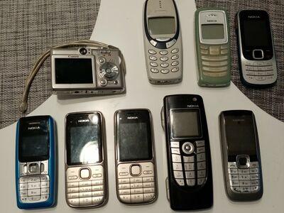 Retro Mobiiltelefonid