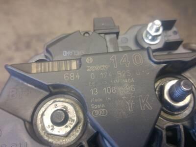 Opel Saab Generaator Bosch 0124525030, 13108596