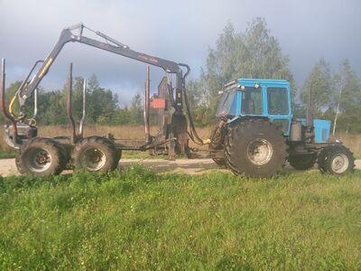 MTZ metsveotraktor