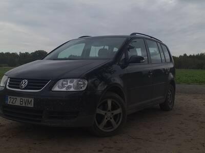 Regulaarselt hooldatud Volkswagen Touran!