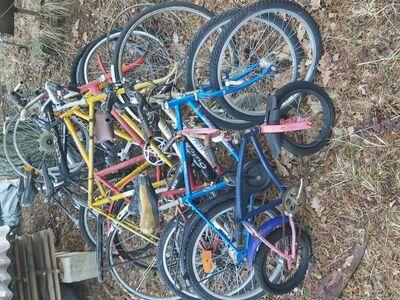 Jalgrattad varuosadeks