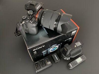 Sony A7 M2, 28-70 objektiiv