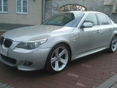 BMW 520 M - Pakett E60 - väga heas korras