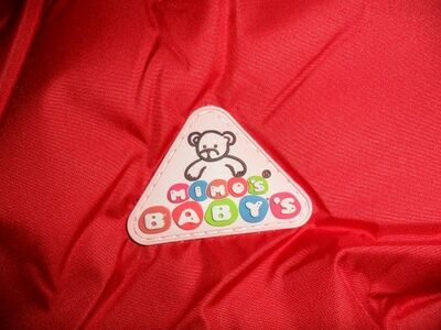 Mimo*s Baby*s uus punane väikelaste soojakott
