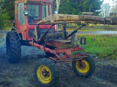 Ostan traktori või kopa