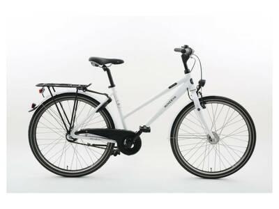 """Naiste jalgratas 26"""" MINERVA valge 7 kiirust"""