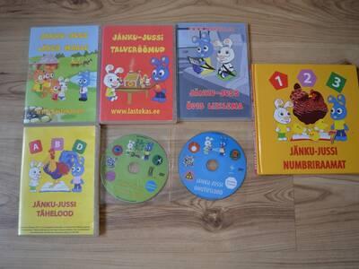 JÄNKU-JUSSI DVD plaadid 7tk+raamat