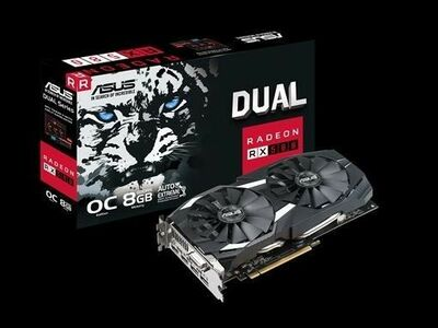 Videokaart Asus Radeon RX 580 8GB GDDR5 256BIT