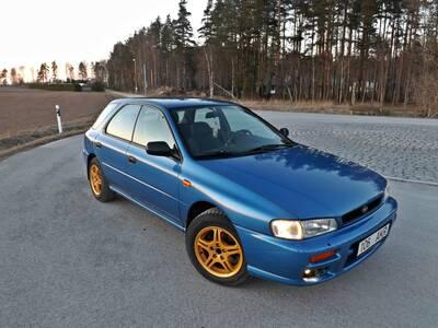 Subaru Impreza B4 1.6 boxer 70kW