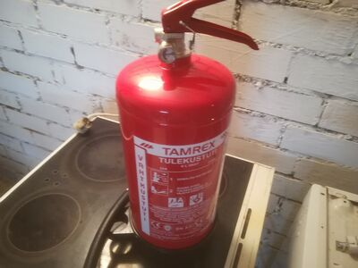 Uus tulekustuti.