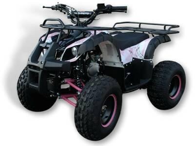 "ATV 125cc hummer 8"" roosa"