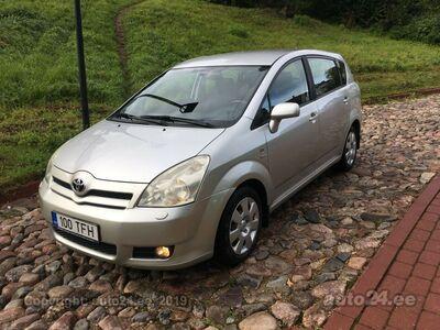 Toyota Corolla Verso Hooldusraamatuga 155000 km!