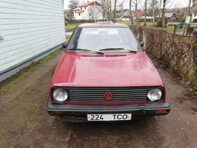Volkswagen Golf 1984 bensiin manuaal