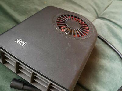 DEFA soojendus salongisoojendus radiaator ventilaa