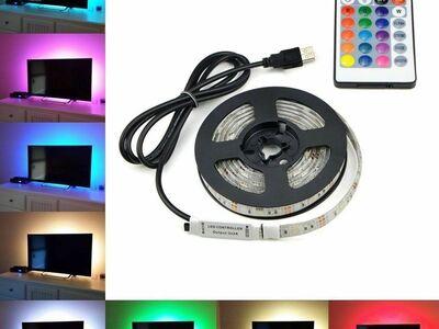 LED valgusriba 3m koos puldiga