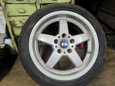 BMW 17x8 valuveljed ET 35, 4tk + rehvid