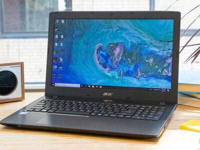 Õhuke kiire Acer E15, i3/8GB/Aku 8h