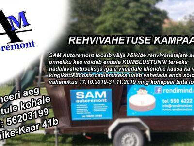 SAM Autoremont Rehvivahetus al 25€