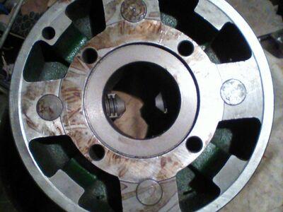 Treipingi padrun d315mm