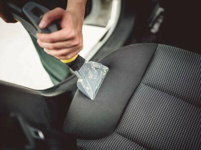 Autosalongi keemiline puhastus. Tekstiilipesu.