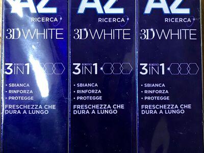 Hambapasta Oral B AZ 3D White (maitse white&cool)