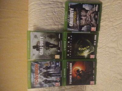 Kasutatud xbox one mängud