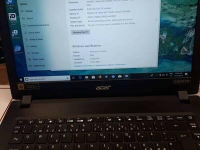 Sülearvuti Acer Aspire3